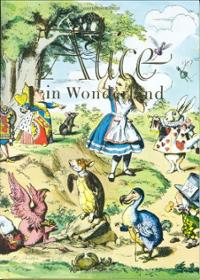 alice-in-wonderland-through-looking-glass-lewis-carroll-hardcover-cover-art