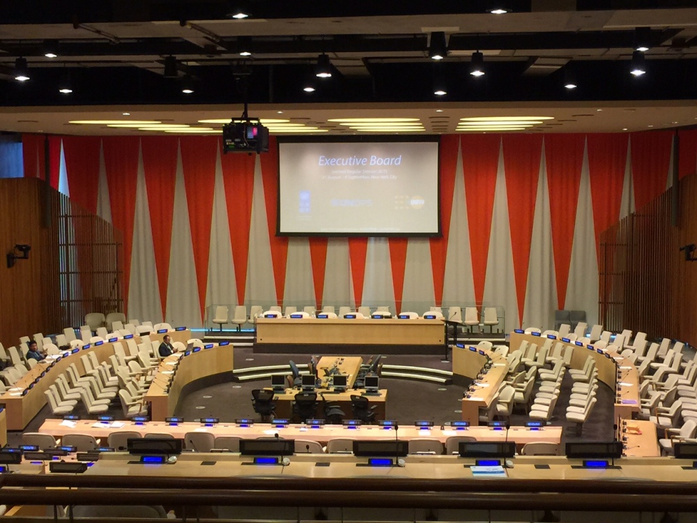 un meeting room