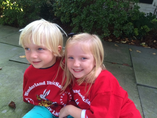 Ella and Wills pumpkin craft
